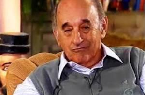 Ator Sebastião Vasconcelos morre, aos 86 anos, em hospital do Rio