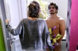 'Amor à Vida': Caio Castro nu causa alvoroço na web; relembre outros peladões