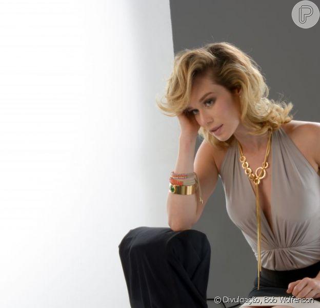 Mariana Ximenes posou para a nova campanha da marca de acessórios Morana