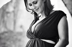 Guilhermina Guinle, grávida de 8 meses, diz que o marido está mais ansioso