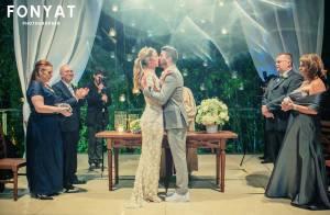 Luana Piovani posta fotos do seu casamento e diz: 'Coisa linda de sonho'