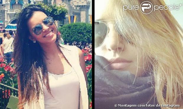 Mariana Rios não está loira. Na última quarta-feira a atriz gerou um grande burburinho entre os fãs ao postar a imagem com os fios aparentemente mais claros. Nesta quinta-feira, ela exibiu o cabelo castanho