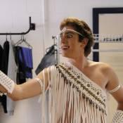 Marcelo Adnet se veste de Ney Matogrosso para o 'Fantástico'