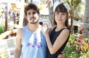 Caio Castro sobre cenas quentes com Maria Casadevall: 'Tem que ter cabeça boa'