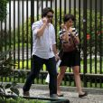 Murilo Benício e Débora Falabella asumiram relacionamento após o fim da novela 'Avenida Brasil'