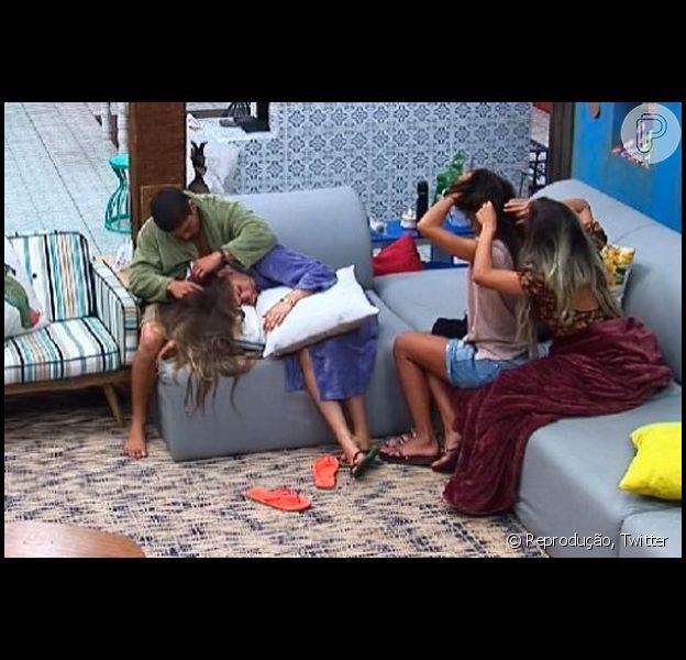Peões encontram piolhos na cabeça de Ana Paula Minerato, neste sábado (31)