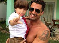 Latino manda indireta para ex-mulheres que cobram pensões em foto com o filho