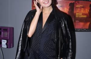 Sophie Charlotte exibe barriga de quase 5 meses de gravidez em estreia de filme