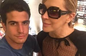 Cláudia Raia elogia namorada do filho, Enzo Celulari: 'Menina gentil e fofinha'