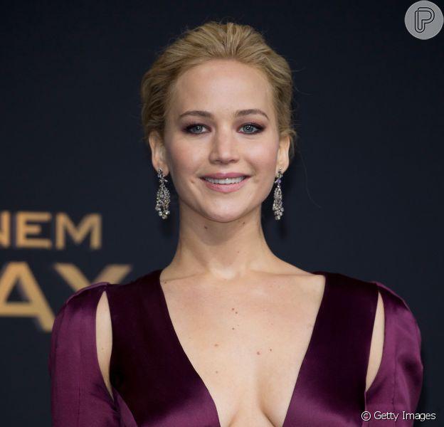 Jennifer Lawrence brilha em noite de première do filme 'Jogos Vorazes: A Esperança - Parte 2' em Berlim, na Alemanha