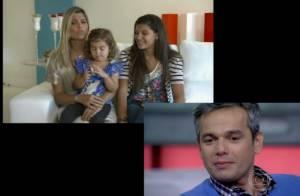Otaviano Costa sobre ser padrasto: 'Aprendi a ser pai com a Giulia'