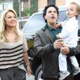 Eliana e João Marcelo Bôscoli festejam o aniversário de 2 anos do filho, Arthur