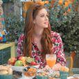 Marina Ruy Barbosa toma café da manhã com Ana Maria Braga, no programa 'Mais Você