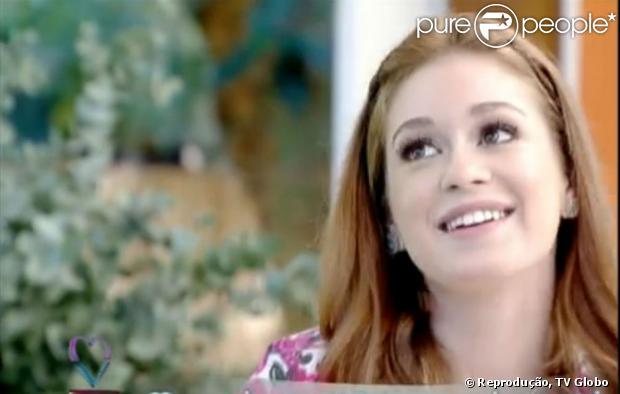 Marina Ruy Barbosa participa do programa 'Mais Você' e afirma que rasparia a cabeça, caso fosse necessário. A atriz esteve no programa em 13 de agosto de 2013