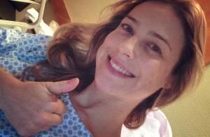 Luana Piovani passa por cirurgia após lesão no 'Dança' e diz: 'Está tudo bem'