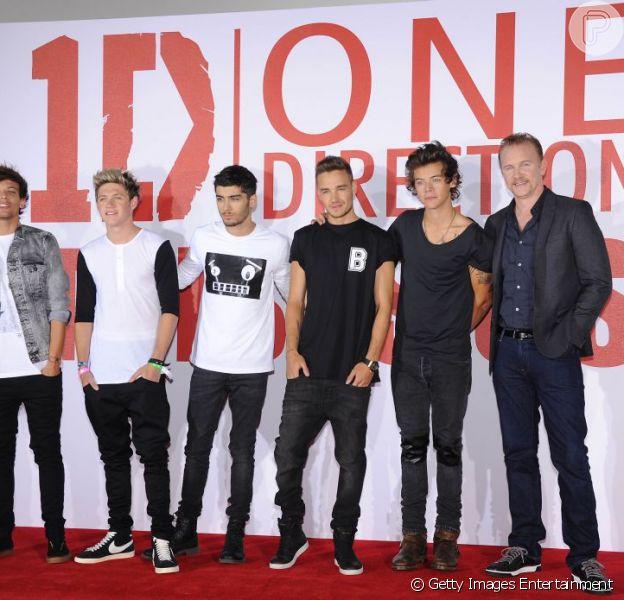 One Direction lança primeiro filme nesta terça-feira, 20 de agosto de 2013
