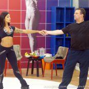 Adriano Garib se encanta com a valsa e revela: 'Quero fazer balé'