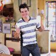 Anderson Di Rizzi é apaixonado pela personagem de Tatá Werneck na trama das nove da TV Globo