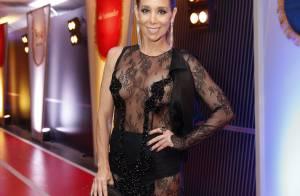 Danielle Winits sobre vestido transparente no Prêmio Multishow: 'É tudo truque'