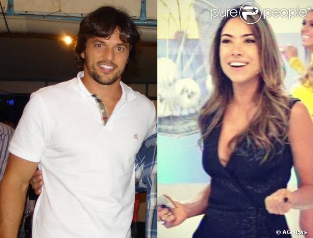 Patrícia Abravanel e Fábio Faria estão namorando, em 9 de setembro de 2013