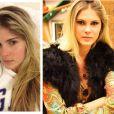 Barbara Evans não ficou tão diferente na foto sem maquiagem. A modelo, filha de Monique Evans, é jovem e sua pele é linda mesmo sem cosméticos