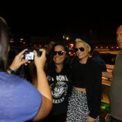 Jessie J, uma das estrelas do Rock in Rio, atende fãs antes de deixar o Brasil