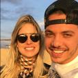 Wesley Safadão está em Dubai, nos Emirados Árabes, com a mulher, Thyane Dantas