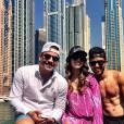 Wesley Safadão curte viagem a Dubai com a mulher, Thyane Dantas, e amigos