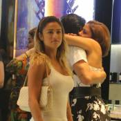 Loira flagrada com Bruno Gissoni é Stephanie Marques, ex-namorada do ator