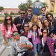Anitta viajou a Orlando, nos Estados Unidos, com um grupo de familiares e amigos