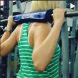 Antonia Fontenelle mostrou dia de treino em vídeo