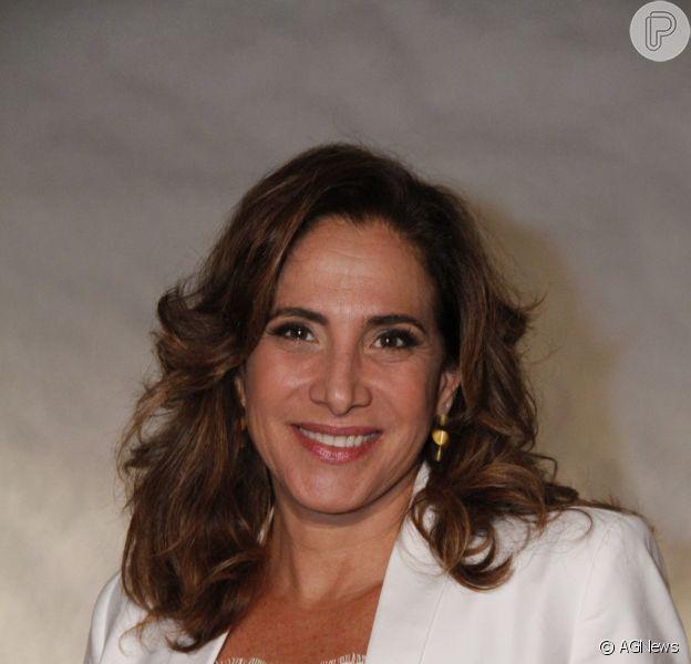 Totia Meireles completa 55 anos nessa sexta-feira, 11 de outubro de 2013