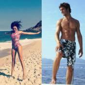 Isis Valverde aprende a surfar com novo namorado, André Resende: 'Novo caminho'