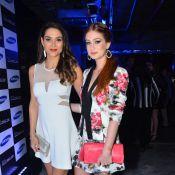Fernanda Machado e Marina Ruy Barbosa vão a evento de moda e tecnologia em SP