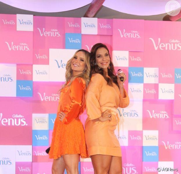 Claudia Leitte Ivete Sangalo receberam R$ 1,5 milhão cada uma para estrelarem juntas uma campanha publicitária