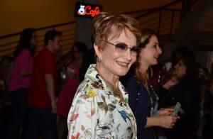 Glória Menezes comemora 79 anos de vida e 50 de casamento com Tarcísio Meira