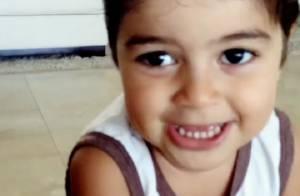 Juliana Paes mostra o filho Pedro, de 2 anos, cantando a música 'Vagalumes'