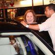 Aracy Balabanian deixa restaurante da Zona Sul do Rio de Janeiro