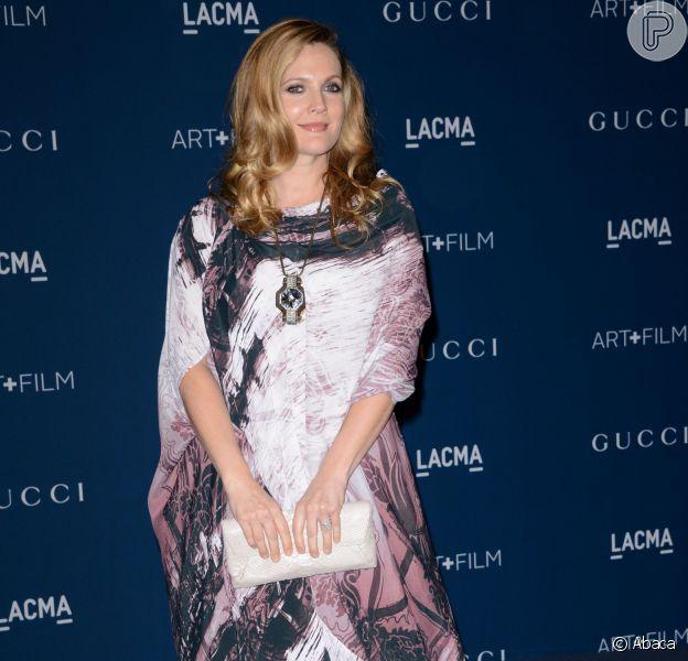 Drew Barrymore em evento de gala, em Los Angeles