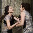 Leila (Fernanda Machado) apanha da mãe, quando seu golpe é revelado, em 'Amor à Vida'