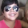 Yhudy Lima, filho de Wesley Safadão, de 5 anos, não gosta de edição, o que faz os seus vídeos ficarem espontâneos