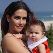 Deborah Secco vai levar filha, Maria Flor, para gravações: 'Com uma babá'