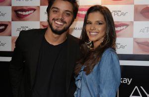 Solteira, Mariana Rios curte festa com Rodrigo Simas e Giovanna Lancellotti