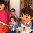 Nas redes sociais, Rodrigo Faro  registrou momentos da viagem