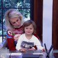 Ana Maria Braga pediu e o neto Bento, de 4 anos, deu bom dia para o público do 'Mais Você'. 'É isso aí, Bento', elogiou o Louro José