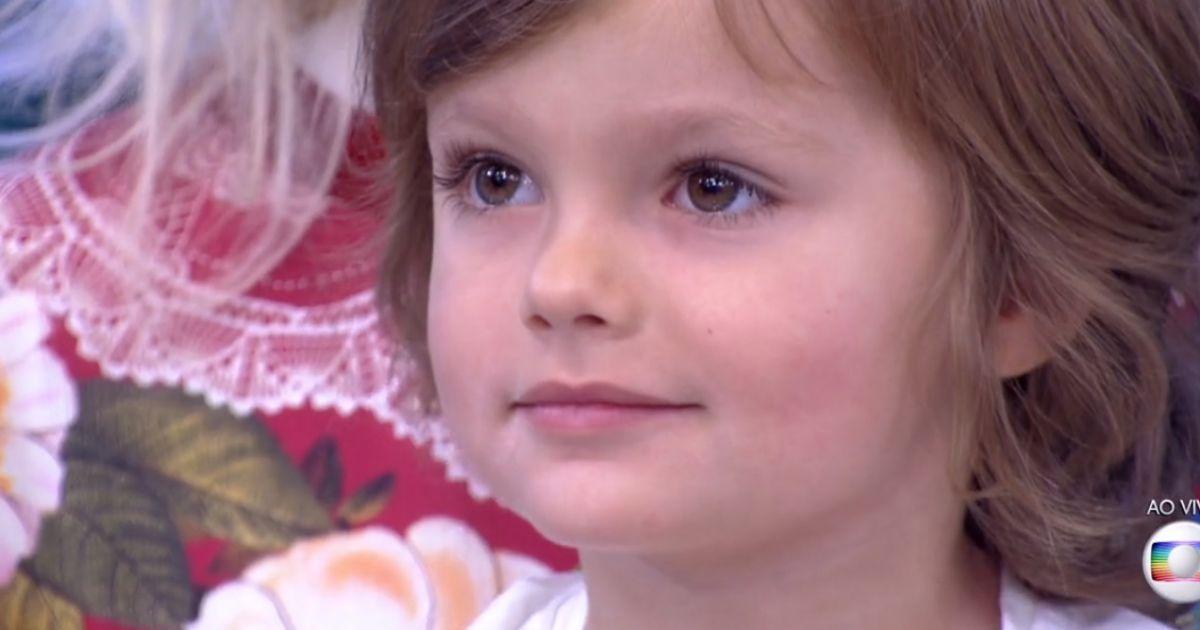 Bento, neto de Ana Maria Braga, foi visitar a avó no 'Mais ...