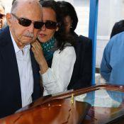 Miguel Falabella, Lisandra Souto e famosos vão ao enterro de Guilherme Karan