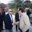 Alfredo Karan, pai de Guilherme Karan, recebeu as condolências de Diogo Vilela