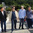 Miguel Falabella e Diogo Vilela se despediram de Guilherme Karan. O humorista morreu aos 58 anos vítima de uma doença degenerativa