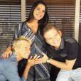Thais Fersoza recebeu o carinho de Xuxa e do marido, Michel Teló, durante a gravidez de Melinda